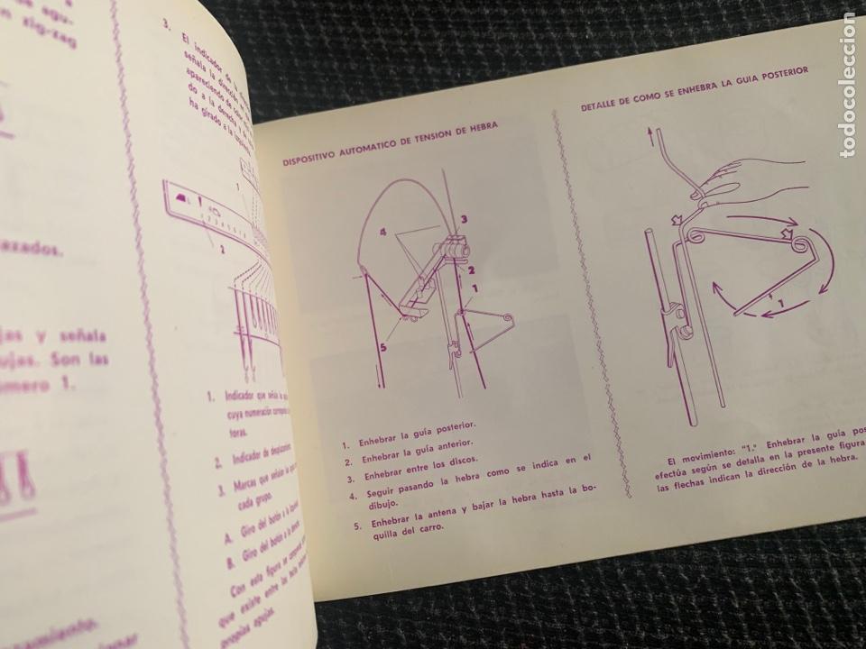 Antigüedades: Manual de instrucciones de 1967 brother modelo 581-L - Foto 3 - 278763428