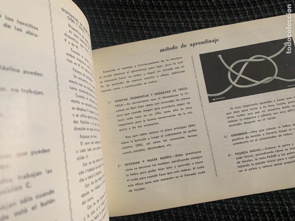 Antigüedades: Manual de instrucciones de 1967 brother modelo 581-L - Foto 4 - 278763428
