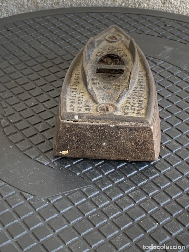 Antigüedades: ANTIGUA BASE PLANCHA HIERRO MARCAS ENTERPRISE PHILADELPHIA EEUU USA FIN S XIX PPIO S XX 5X16X8CMS - Foto 3 - 278822333