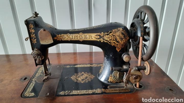 Antigüedades: Maquina de coser Singer - Foto 6 - 278829328