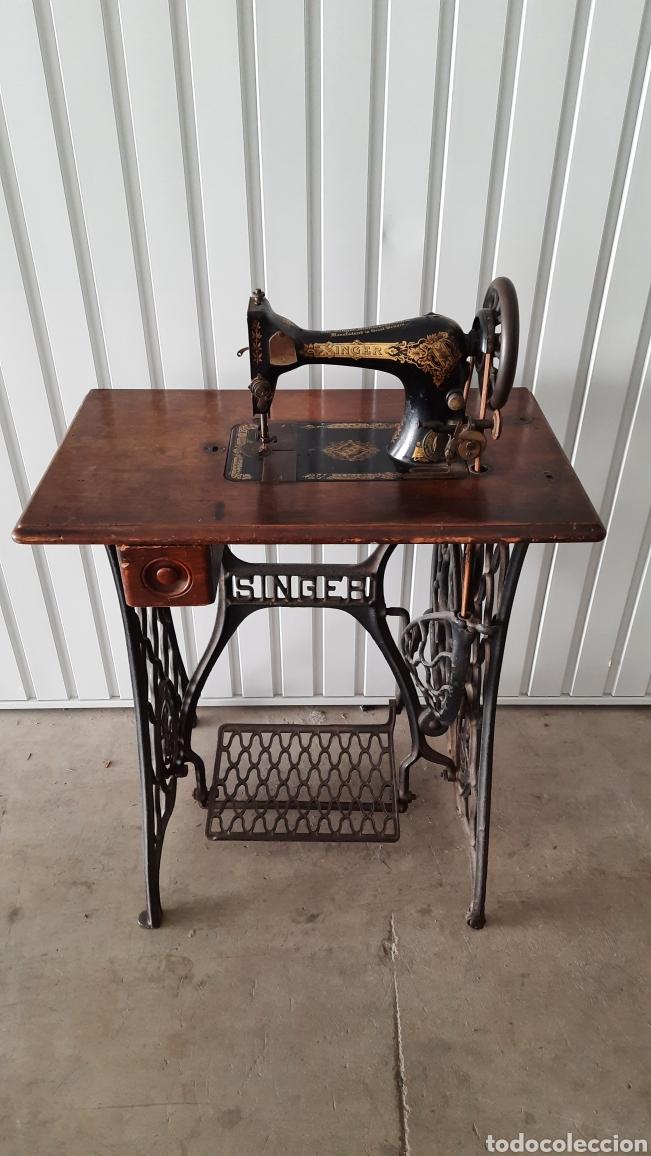 Antigüedades: Maquina de coser Singer - Foto 7 - 278829328