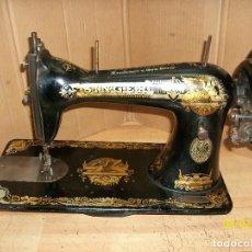 Antigüedades: ANTIGUA CABEZA DE MAQUINA DE COSER SINGER-COMPLETA. Lote 278833453