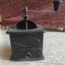 Antigüedades: ANTIGUO MOLINILLO DE CAFÉ MARCA ELMA. METÁLICO. Lote 278835688