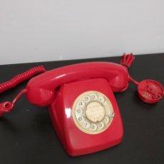 Teléfonos: TELEFONO CITESA MALAGA ROJO COMPLETO BUEN ESTADO DE RUEDA. Lote 278931918
