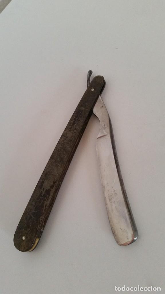 ANTIGUA NAVAJA LABERGERE ,ANGOULME DE ENFETAR (Antigüedades - Técnicas - Barbería - Navajas Antiguas)