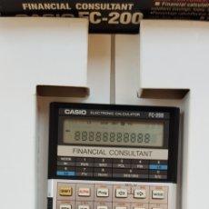 Oggetti Antichi: CALCULADORA CASIO FC- 200 FINANCIAL. Lote 279360808