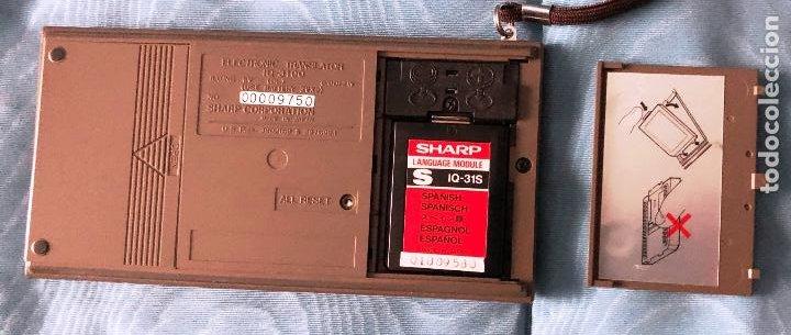 Antigüedades: Antigua calculadora SHARQ IQ3100, con su funda - Foto 6 - 279378793