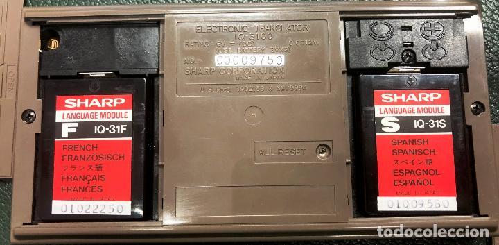 Antigüedades: Antigua calculadora SHARQ IQ3100, con su funda - Foto 10 - 279378793