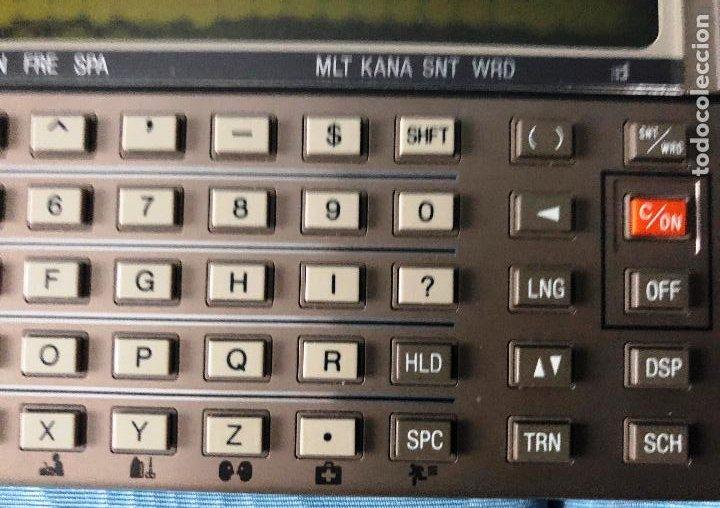 Antigüedades: Antigua calculadora SHARQ IQ3100, con su funda - Foto 12 - 279378793