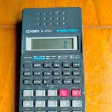 Antigüedades: CALCULADORA CASIO FX-82SX FRACTION. Lote 279466283