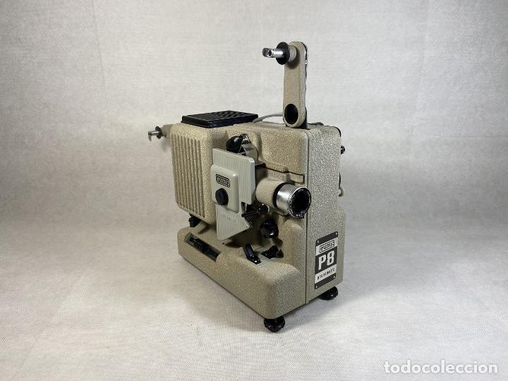 PROYECTOR EUMIG WIEN P8 PHONOMATIC AUSTRIA 1950'S - LA OPALINA (Antigüedades - Técnicas - Aparatos de Cine Antiguo - Cámaras de Super 8 mm Antiguas)