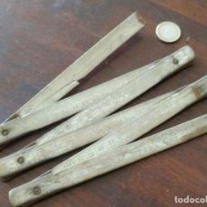 Antigüedades: UN METRO DE CARPINTERO, TRACICIONAL METRO DE LISTON DE MADERA EN TRAMOS DESPLEGABLES. Lote 279521343