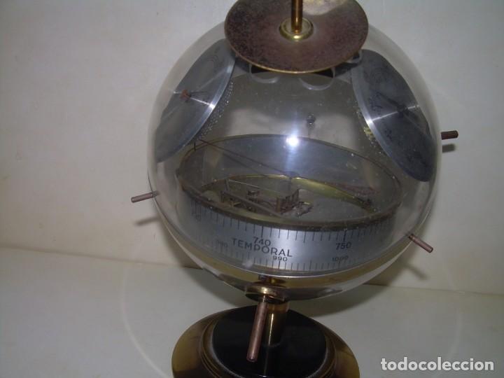 Antigüedades: SPUTNIK.ESTACION METEOROLOGICA,HIGROMETRO,BAROMETRO TERMOMETRO.ETC. - Foto 4 - 279566293