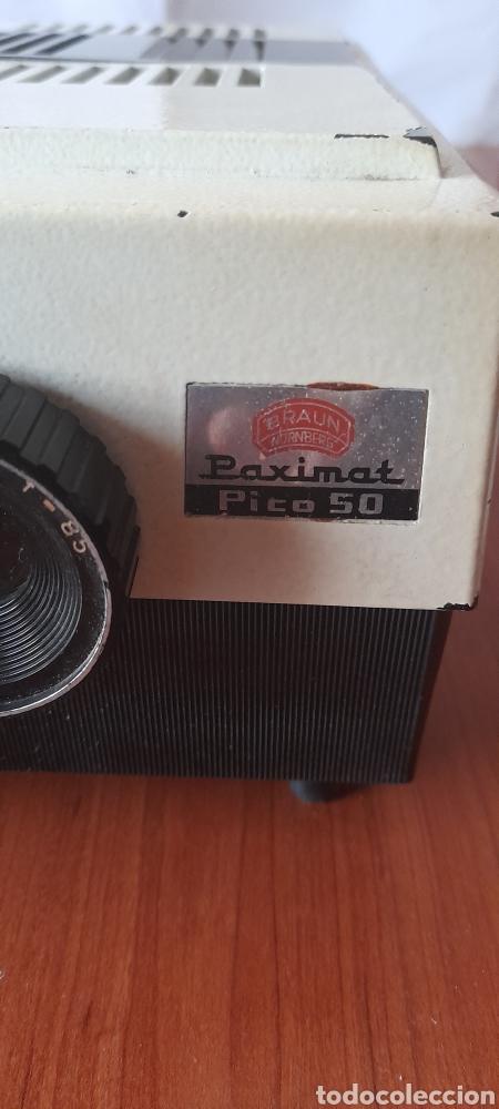 Antigüedades: Proyector Diapositivas Braun Paximat Pico 50 . Ver fotos. - Foto 24 - 279584738