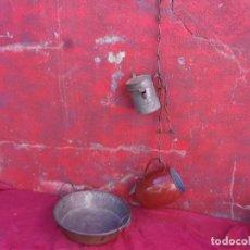 Antigüedades: ANTIGUO LLAR,HIERRO,FORJA. Lote 279589313