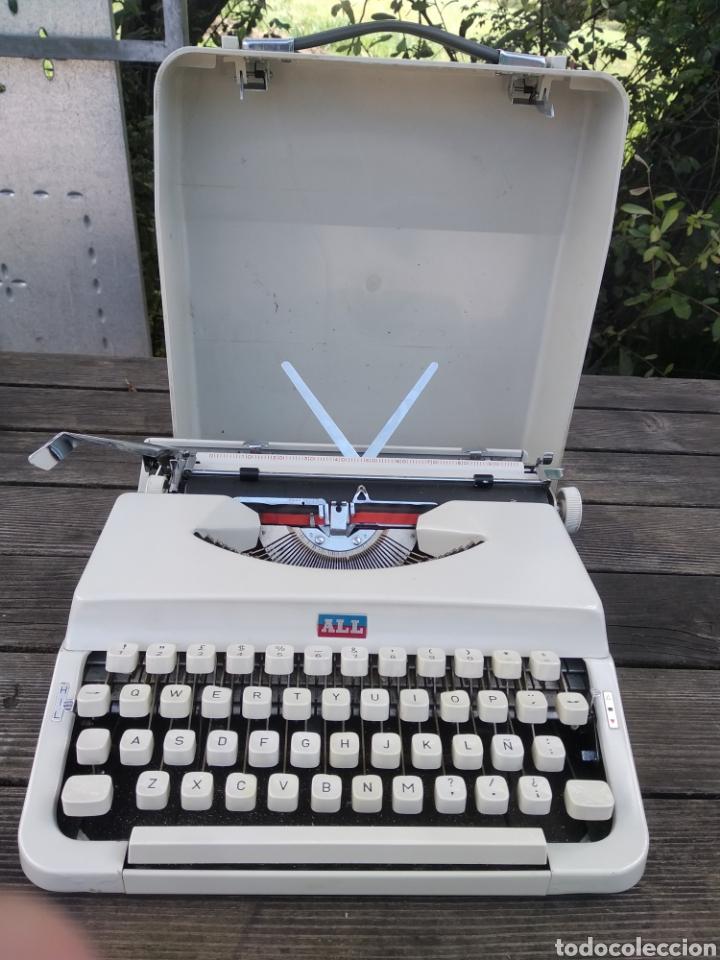 RARA MAQUINA ESCRIBIR NAKAJIMA ALL. VINTAGE AÑOS 90. (Antigüedades - Técnicas - Máquinas de Escribir Antiguas - Otras)