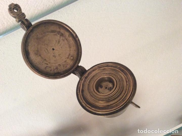 Antigüedades: Ponderal antiguo, muchos marcajes - Foto 2 - 281888483