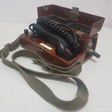 Teléfonos: TELÉFONO MILITAR GUERRA DE BOSNIA AÑO 1992. Lote 282953793