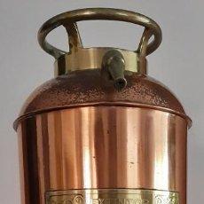 Antiquités: ANTIGUO EXTINTOR MARCA ASEGURADOR - C. 1925. Lote 282961683