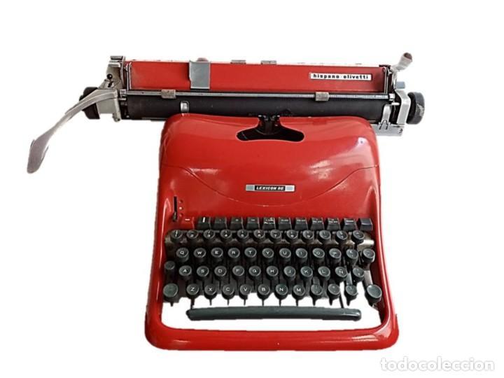 HISPANO OLIVETTI LEXICON 80, ITALIA AÑOS 80 (Antigüedades - Técnicas - Máquinas de Escribir Antiguas - Olivetti)