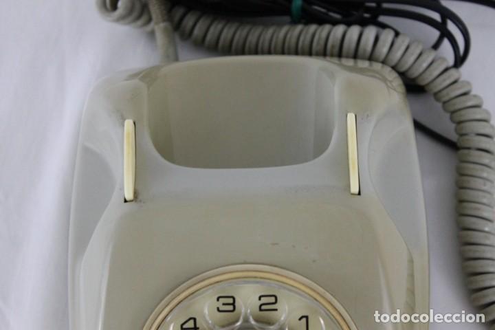 Teléfonos: Teléfono Heraldo Citesa Málaga CTNE con botón años 60 - Foto 4 - 283064598
