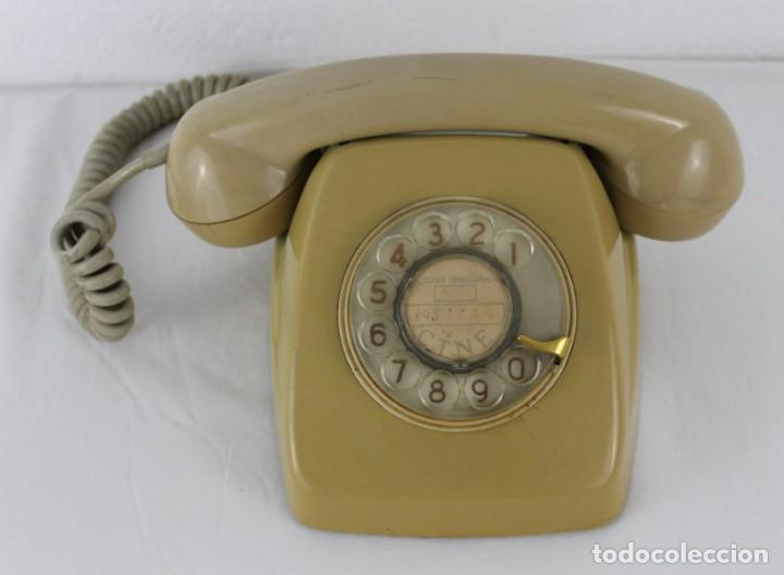 TELÉFONO HERALDO CTNE ECUALIZADO AÑOS 60 (Antigüedades - Técnicas - Teléfonos Antiguos)