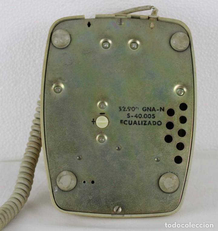 Teléfonos: Teléfono Heraldo CTNE ecualizado años 60 - Foto 5 - 283064903