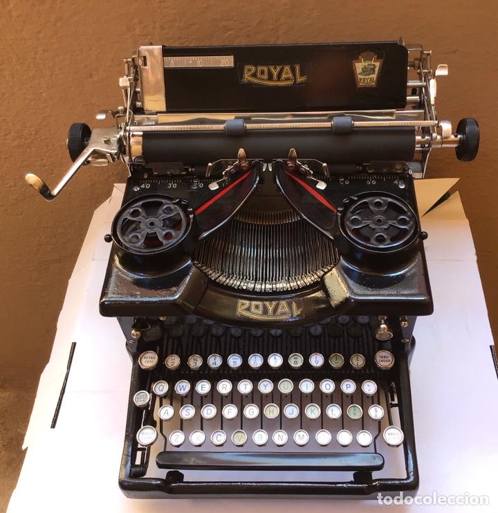 MAQUINA DE ESCRIBIR ROYAL STANDAR - MADE IN USA - TYPERWRITER - SCHREIBMASCHINE - REF 7 (Antigüedades - Técnicas - Máquinas de Escribir Antiguas - Royal)