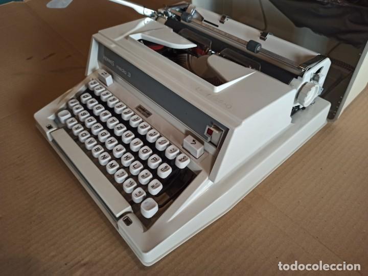 Antigüedades: Máquina de escribir HERMES suiza - Foto 3 - 283081218