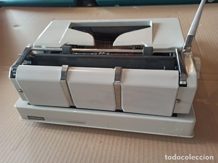 Antigüedades: Máquina de escribir HERMES suiza - Foto 5 - 283081218