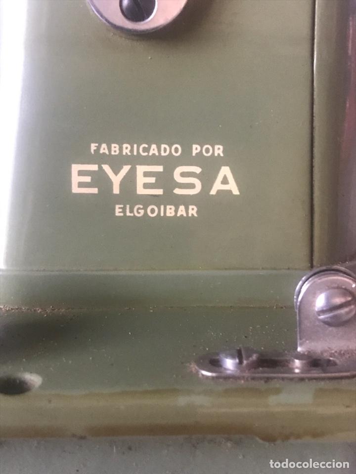 Antigüedades: maquina de coser SIGMA modelo H fabricada por EYESA - Foto 2 - 282534738