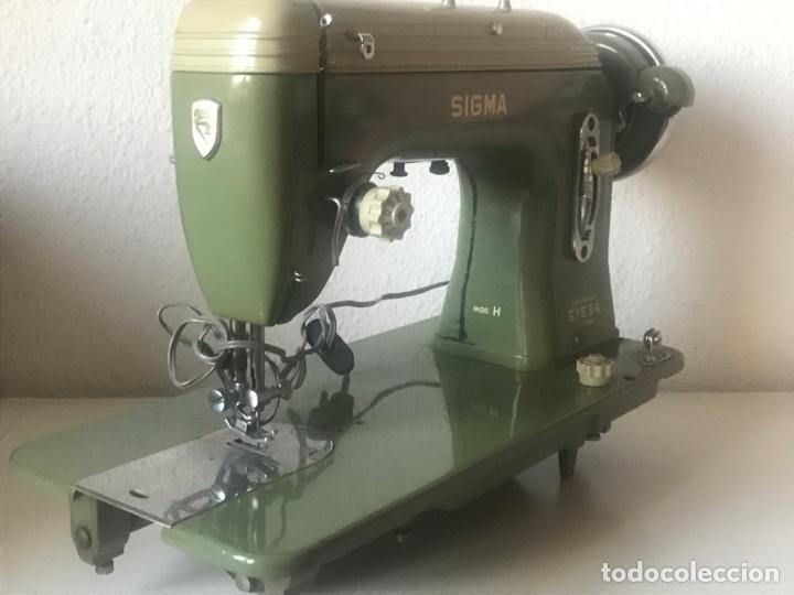 Antigüedades: maquina de coser SIGMA modelo H fabricada por EYESA - Foto 3 - 282534738