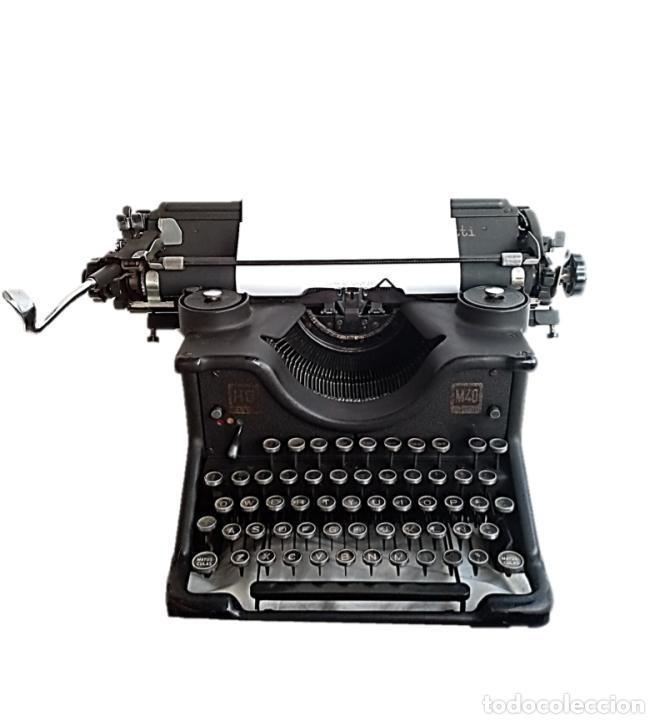 MAQUINA ESCRIBIR HISPANO OLIVETTI, AÑOS 40 FUNCIONA (Antigüedades - Técnicas - Máquinas de Escribir Antiguas - Olivetti)