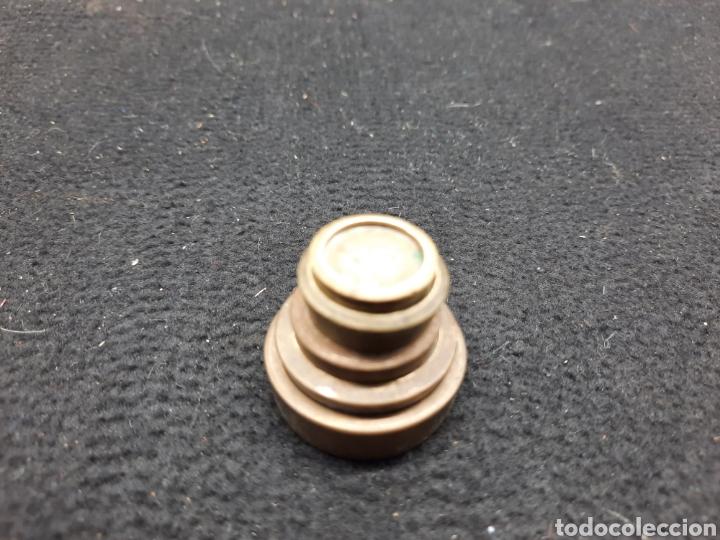 5 VIEJOS PONDERALES/ PESOS DE BRONCE VARIADOS (Antigüedades - Técnicas - Medidas de Peso - Ponderales Antiguos)