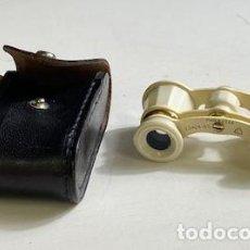 Antigüedades: BINOCULARES PARA OPERA - MADE IN USSR 2,5X24 - CON FUNDA. Lote 283738018