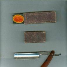 Antiquités: + RARA NAVAJA DE AFEITAR VIUDA DE GABALDON. UTIEL VALENCIA - CUCHILLERIA PEREZ . CUENCA. Lote 283752598
