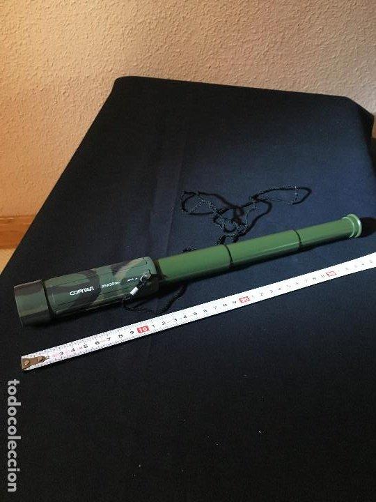 TELESCOPIO TERRESTRE 30 AUMENTOS (Antigüedades - Técnicas - Instrumentos Ópticos - Catalejos Antiguos)
