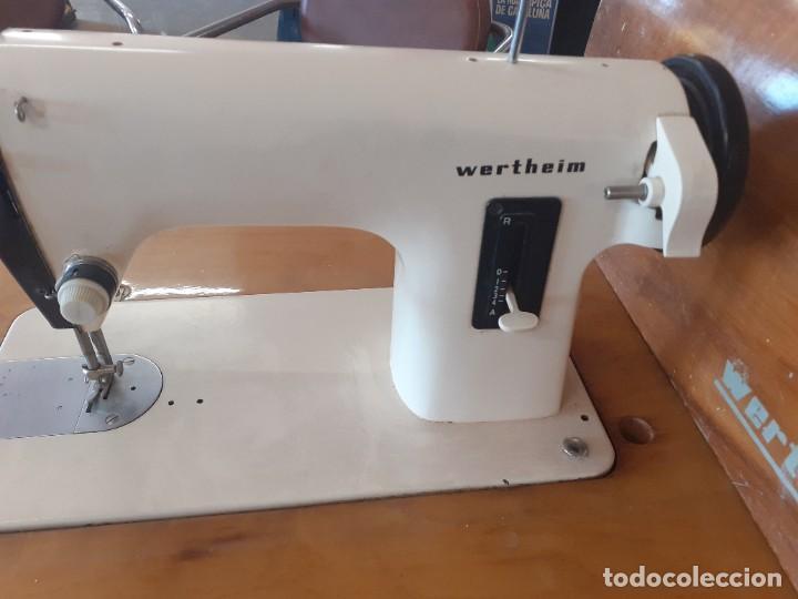 Antigüedades: Maquina coser Wertheim - Foto 2 - 284115808