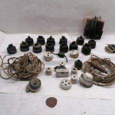 Antigüedades: LOTE ELECTRICIDAD. Lote 284148433