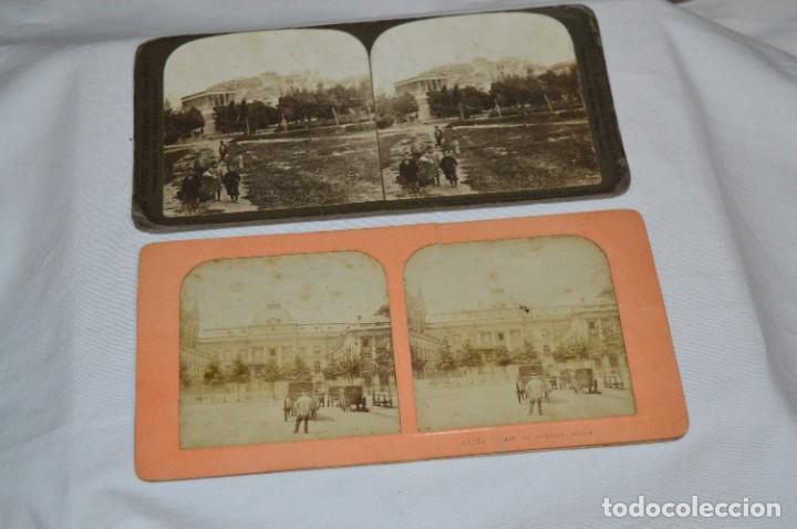 Antigüedades: Antiguo/vintage / Visor Estereoscópico + 2 VISTAS / En caja - ¡Funcionando, estado IMPECABLE, MIRA! - Foto 11 - 284365088