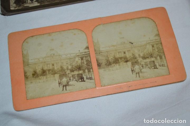 Antigüedades: Antiguo/vintage / Visor Estereoscópico + 2 VISTAS / En caja - ¡Funcionando, estado IMPECABLE, MIRA! - Foto 13 - 284365088
