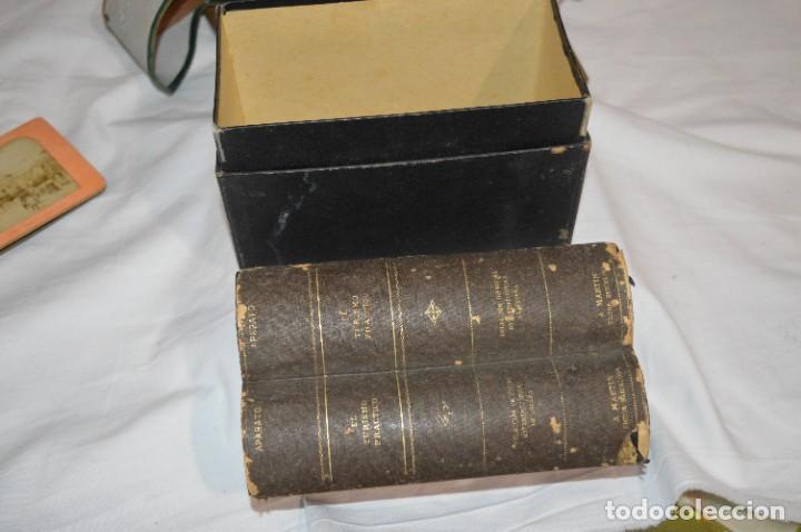 Antigüedades: Antiguo/vintage / Visor Estereoscópico + 2 VISTAS / En caja - ¡Funcionando, estado IMPECABLE, MIRA! - Foto 20 - 284365088