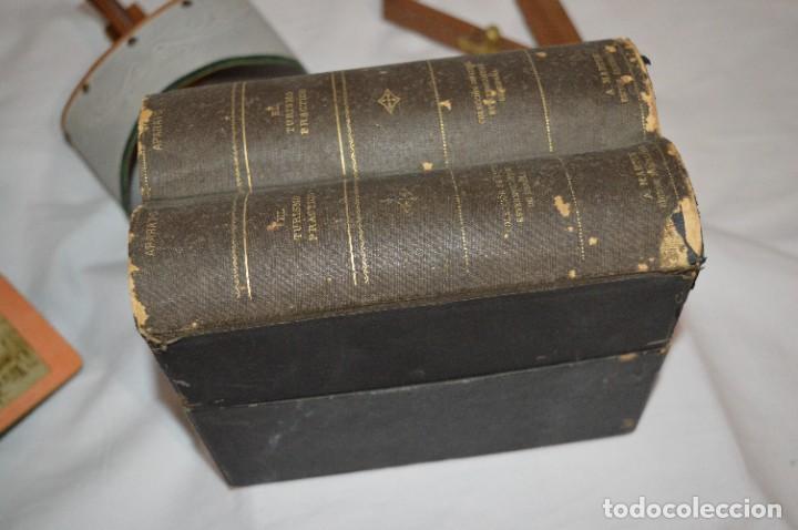 Antigüedades: Antiguo/vintage / Visor Estereoscópico + 2 VISTAS / En caja - ¡Funcionando, estado IMPECABLE, MIRA! - Foto 14 - 284365088