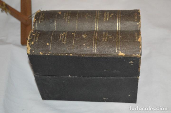 Antigüedades: Antiguo/vintage / Visor Estereoscópico + 2 VISTAS / En caja - ¡Funcionando, estado IMPECABLE, MIRA! - Foto 16 - 284365088