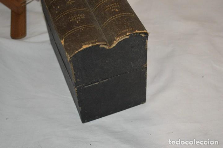 Antigüedades: Antiguo/vintage / Visor Estereoscópico + 2 VISTAS / En caja - ¡Funcionando, estado IMPECABLE, MIRA! - Foto 17 - 284365088