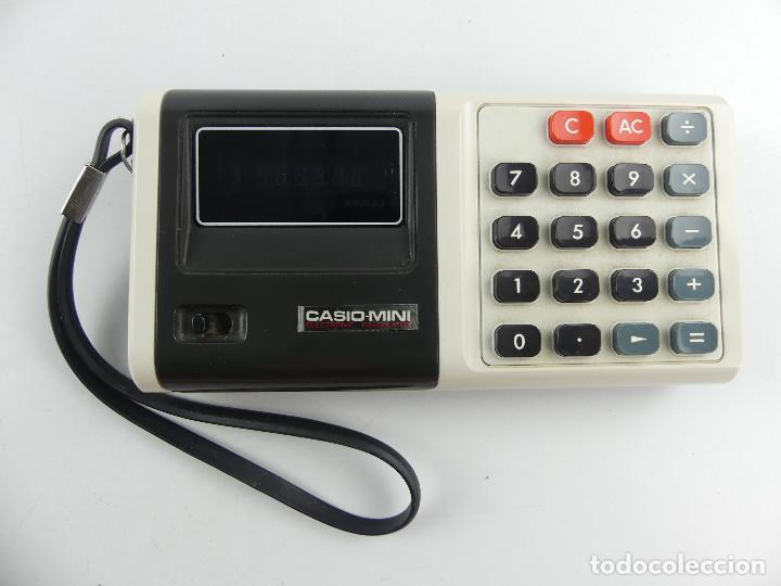 VINTAGE CALCULADORA CASIO MINI JAPON (Antigüedades - Técnicas - Aparatos de Cálculo - Calculadoras Antiguas)