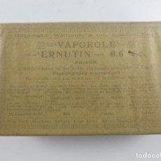 Oggetti Antichi: ANTIGUO FÁRMACO MEDICINA – VAPOROLE ERNUTIN - OBJETO DE COLECCIÓN. Lote 284609828