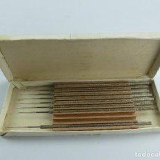 Antiquités: CAJA CON HERRAMIENTA MEDICO. Lote 284615918