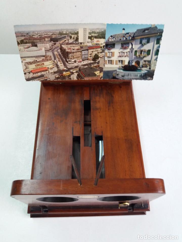 Antigüedades: GRANDE Y PRECIOSO GRAPHOSCOPE VICTORIANO ROSWELL EN MADERA DE PALISANDRO MAS DE 150 AÑOS DE MUSEO - Foto 54 - 284733708
