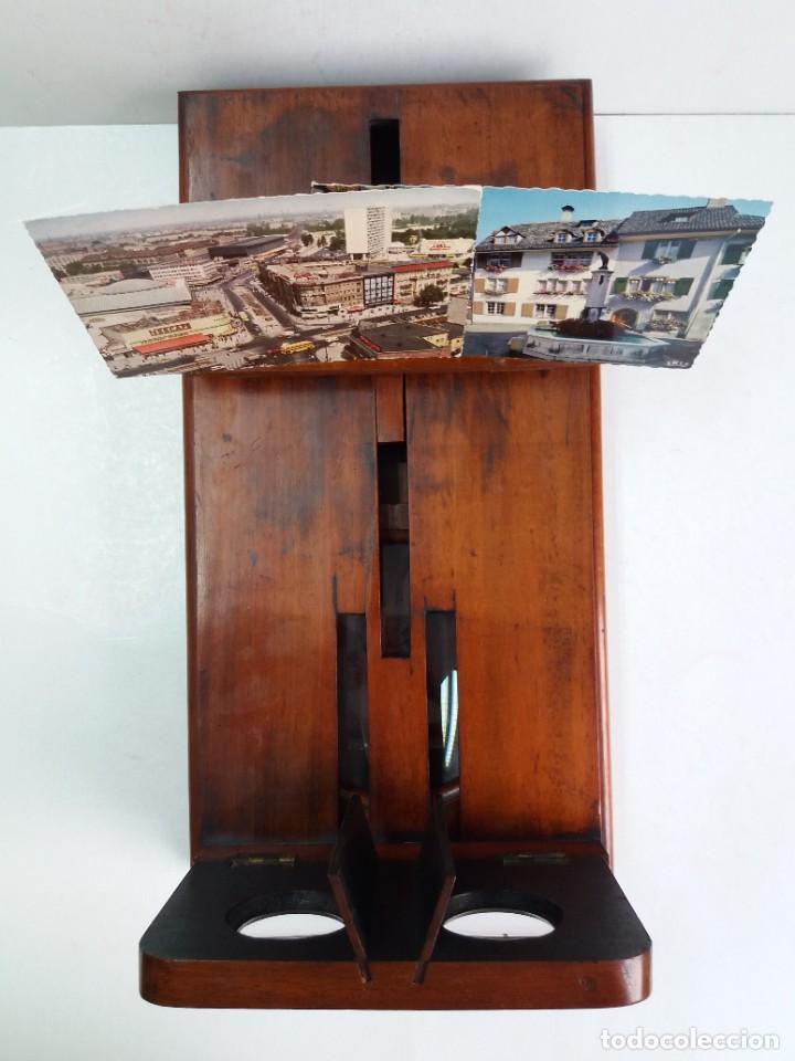 Antigüedades: GRANDE Y PRECIOSO GRAPHOSCOPE VICTORIANO ROSWELL EN MADERA DE PALISANDRO MAS DE 150 AÑOS DE MUSEO - Foto 55 - 284733708